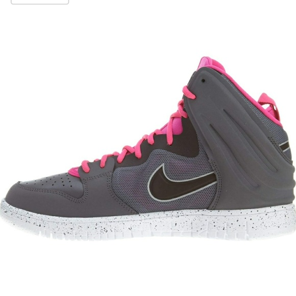 73e6a60ded75 Nike dunk free gray pink basketball shoes 13. M 5bc79d1c03087c35865725b3